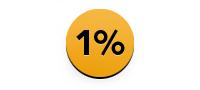 1 %-ok az adónkból